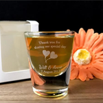 Personalised Engraved Shot Glasses 30ml Wedding Favors - Wedding Design