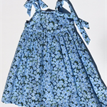 "Size 4 - ""Blue Wildflowers"" Party Dress"