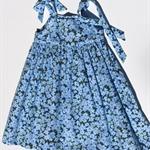 "PRE CHRISTMAS SALE Size 4 - ""Blue Wildflowers"" Party Dress"