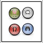 BOB'S BURGERS MIX N MATCH STUD EARRINGS (set of 4)