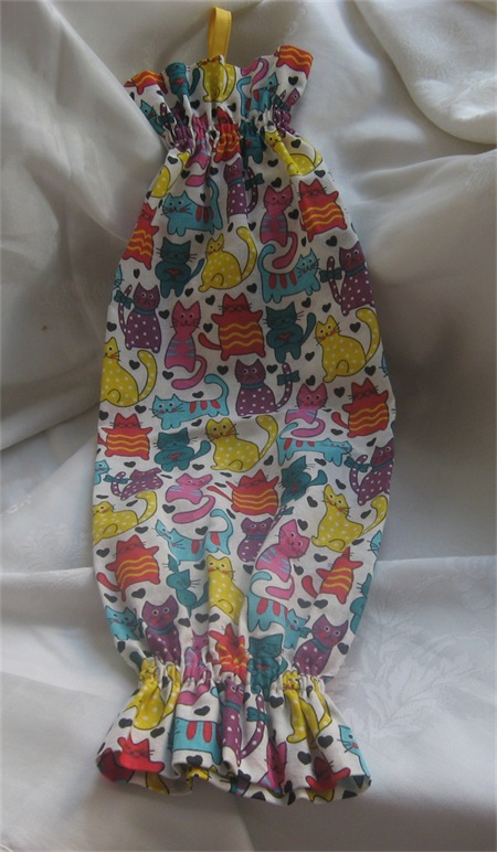 Cotton Cat Plastic Bag Holder