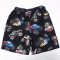 "Size 2 & 3 - ""Monster Trucks"" shorts"