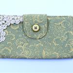 Boho Fabric Wallet Purse Womens, Ladies, Girls Gift