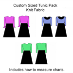 Sewing pattern for your fit. Tunic. Any size. PDF A4