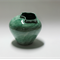 Green Handmade Ceramic Vase with Neck