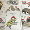 pack of 8 x Australian Christmas cards - mixed designs with wildlife drawings