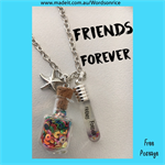FRIENDS FOREVER - necklace