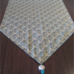 Peacock Feathers Table Runner