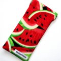 Padded Sunglasses Pouch in Tasty Watermelon Fabric