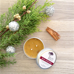 Bush Christmas - Cinnamon & Lemon Myrtle - Beeswax Candle