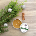 Bush Christmas - Sandalwood & Wild Pine - Beeswax Candle