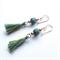 Tassel drop earrings by Sasha + Max