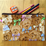 Teddy Bear Pencil Case