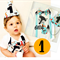 Fox Woodland Theme First Birthday Onesie and Party Hat