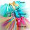 Little Girls Colorful Tutus Rainbow Mermaid and Ocean Themes