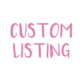 "Custom Listing for Donna Size 10 - ""Surfing Santa"" Xmas Shorts"
