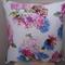 Beautiful Hydrangea Pattern Square Cushion Cover