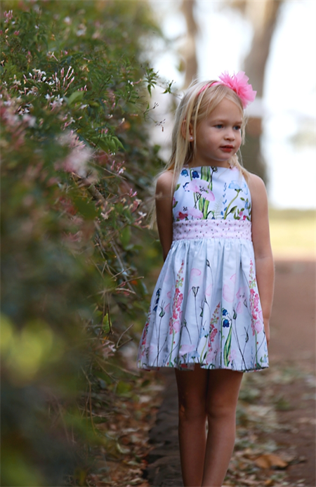 Wildflowers in Pinafore dress