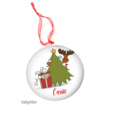 Personalised Christmas decorations - Christmas Cat