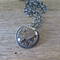 TIME KEEPER, STEAMPUNK WATCH MECHANISM STERLING SILVER NECKLACE