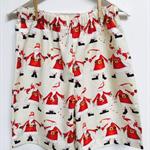 Size 7 - Happy Santas Christmas Shorts