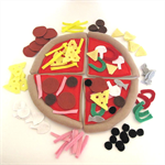 Felt Play Food Pizza, Pretend Play