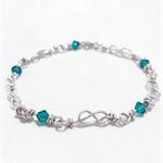 Infinity link bracelet
