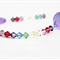 Rainbow crystals suncatcher