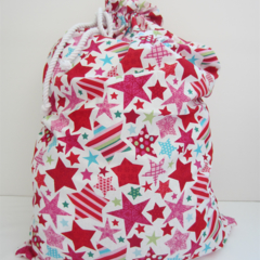Christmas Santa Sack / Stocking - Bright Star