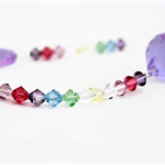 Rainbow crystals suncatcher