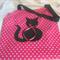 Pink Star Cat Apron