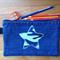 Upcycled Denim Pencil case - Star