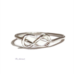 Sterling silver nfinity ring