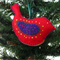 EMBROIDERED FELT BIRD