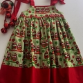 """Size 2 - """"Xmas Owls"""" Dress"""