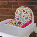 IKEA High Chair Cushion Cover, Antilop Pyttig Pad Slip, First Birthday Decor