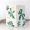 Turquoise Floral Mosaic Vase or Candle Holder ... a tropical touch
