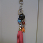 Handbag Bling/Keychain with Tassels