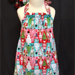 Size 4 - Xmas Characters Dress