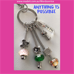 ANYTHING IS POSSIBLE - keyring or bagcharm