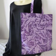 100% Organic Cotton Tote Bag Purple