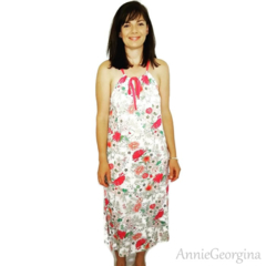 Women's Floral Dress Size Medium *Ready Made - Last one left!