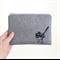 Fairy wren pouch clutch purse