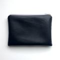 Screen printed fairy wren pouch / clutch / purse / wallet