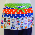 Teacher daycare preschool vendor craft apron - 6 pockets