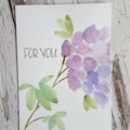 Card - Hydrangea watercolour