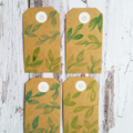 Gift tags - nature design
