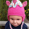 Unicorn hat, beanie. Pink, blue, purple, white unicorns. Little Pony, Brony.