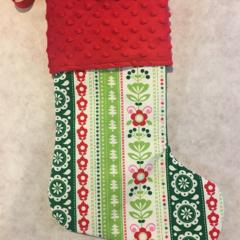 Personalised Christmas Stocking - Traditional Christmas