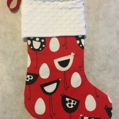 Personalised Christmas Stocking - Chooks